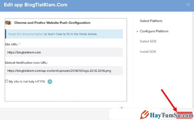 Thủ thuật tạo thông báo đẩy Push Notifications cho WordPress + Hình 9