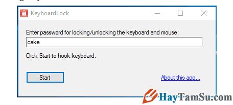 Hướng dẫn cách khóa nhanh bàn phím trong Windows 10 + Hình 6