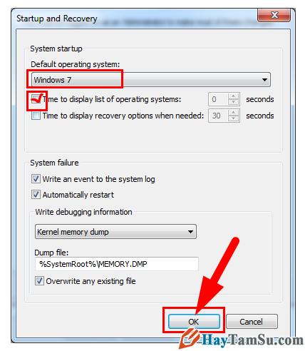 Cách thiết lập Win mặc định khi có 2 hệ điều hành chạy song song + Hình 7