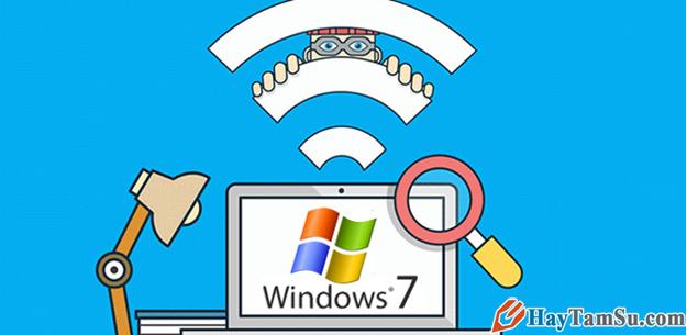 Hướng dẫn cách bật Wifi trên laptop cài hệ điều hành Windows 7 + Hình 2