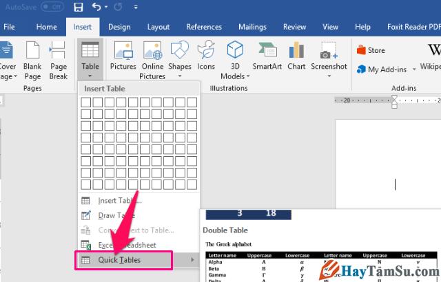 Thủ thuật tạo và tùy biến bảng trong Microsoft Word + Hình 8