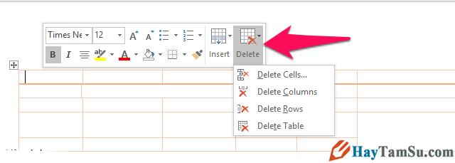 Thủ thuật tạo và tùy biến bảng trong Microsoft Word + Hình 15