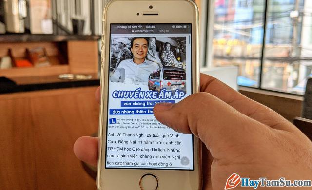 Tăng - Giảm size văn bản cho web Safari trên iOS 13 + Hình 2