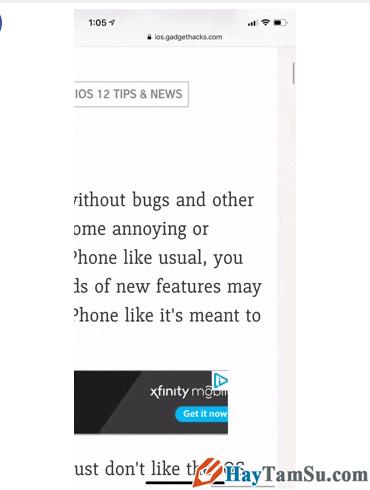 Tăng - Giảm size văn bản cho web Safari trên iOS 13 + Hình 6