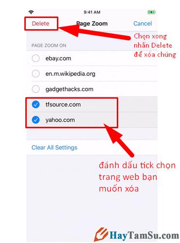 Tăng - Giảm size văn bản cho web Safari trên iOS 13 + Hình 18