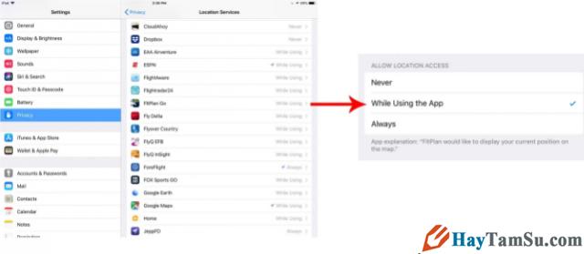 Cách hạn chế ứng dụng truy cập vị trí trên iOS 13 + Hình 2