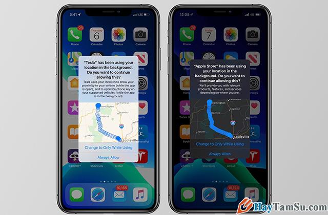 Cách hạn chế ứng dụng truy cập vị trí trên iOS 13 + Hình 10