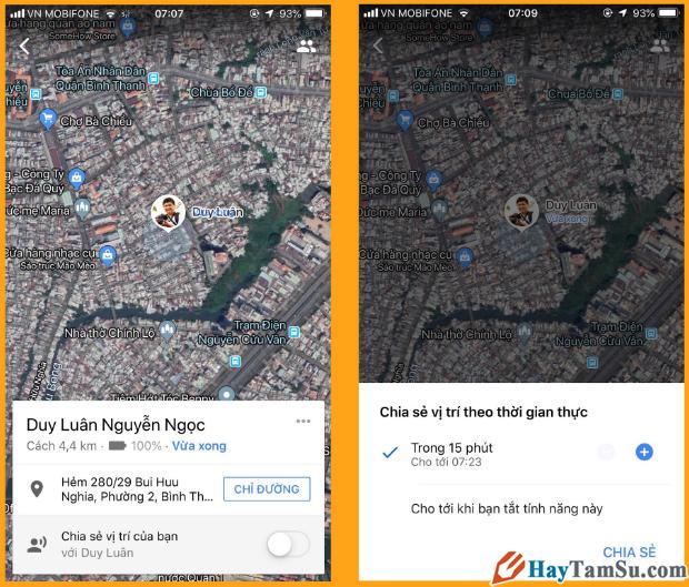 Cách Share bản đồ, vị trí, địa điểm Google Maps với bạn bè + Hình 3
