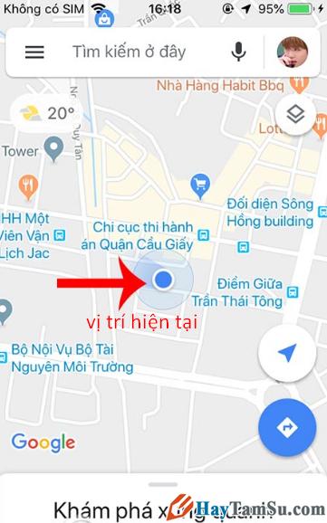 Cách Share bản đồ, vị trí, địa điểm Google Maps với bạn bè + Hình 4