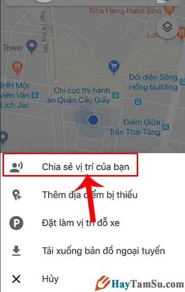 Cách Share bản đồ, vị trí, địa điểm Google Maps với bạn bè + Hình 5