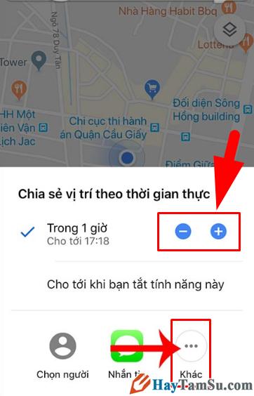 Cách Share bản đồ, vị trí, địa điểm Google Maps với bạn bè + Hình 6
