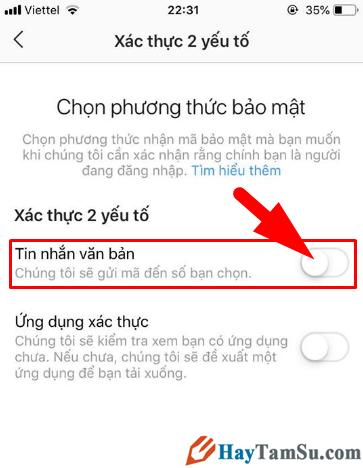 BẬT - TẮT tính năng xác thực 2 yếu tố cho Instagram + Hình 12