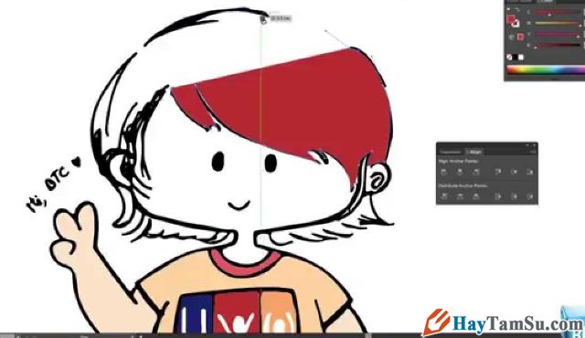 Hướng dẫn chỉnh sửa - Cắt hình ảnh trong Adobe Illustrator + Hình 6