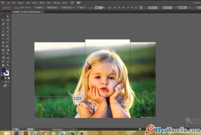 Hướng dẫn chỉnh sửa - Cắt hình ảnh trong Adobe Illustrator + Hình 8