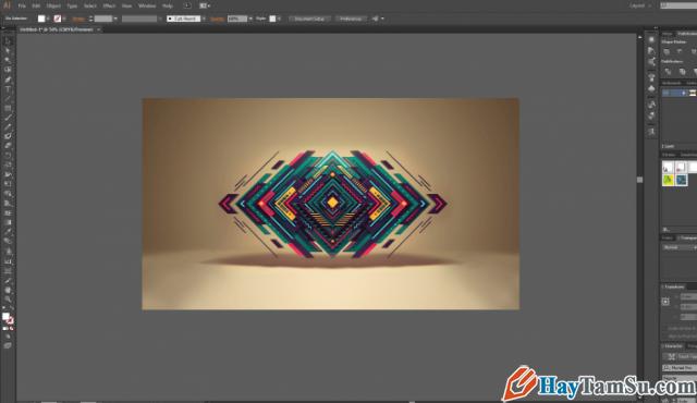 Hướng dẫn chỉnh sửa - Cắt hình ảnh trong Adobe Illustrator + Hình 10