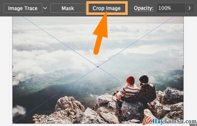 Hướng dẫn chỉnh sửa - Cắt hình ảnh trong Adobe Illustrator + Hình 12