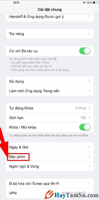 Hướng dẫn cách Tắt tính năng tiên đoán trên iPhone, iPad + Hình 10