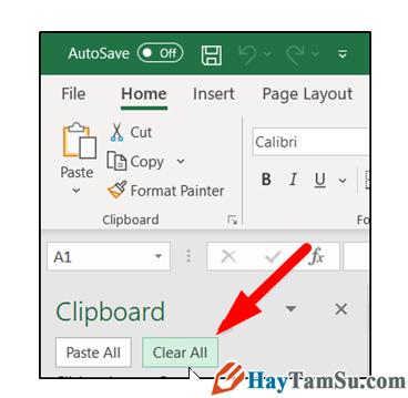 Mẹo xóa clipboard trong Word, Excel và Powerpoint + Hình 4