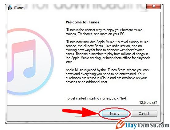 Hướng dẫn cài đặt phần mềm iTunes cho Windows 10 + Hình 5