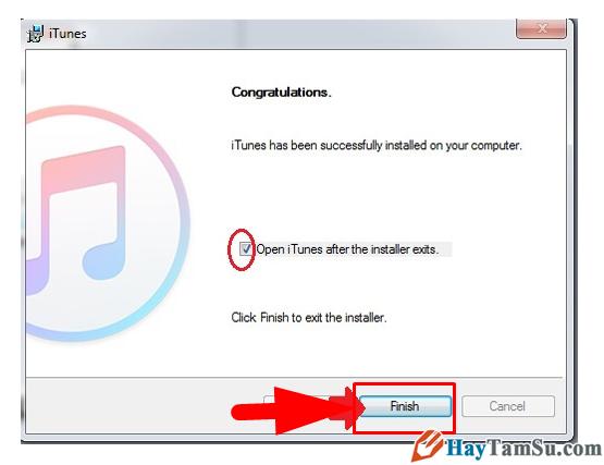 Hướng dẫn cài đặt phần mềm iTunes cho Windows 10 + Hình 7