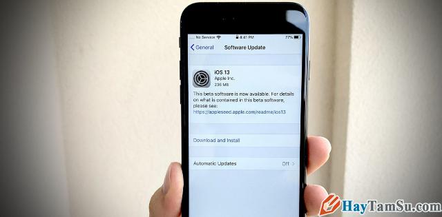 Cách Chặn/Tắt thông báo cập nhật iOS cho điện thoại iPhone, iPad + Hình 2