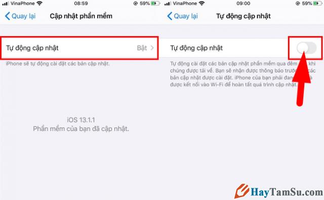 Cách Chặn/Tắt thông báo cập nhật iOS cho điện thoại iPhone, iPad + Hình 6