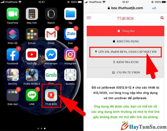 Cách Chặn/Tắt thông báo cập nhật iOS cho điện thoại iPhone, iPad + Hình 15