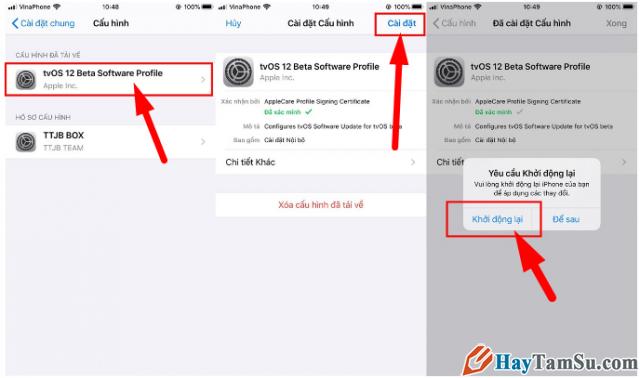 Cách Chặn/Tắt thông báo cập nhật iOS cho điện thoại iPhone, iPad + Hình 17