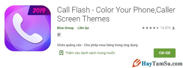 Bật Plash cho iPhone, Android khi có cuộc gọi, tin nhắn + Hình 7