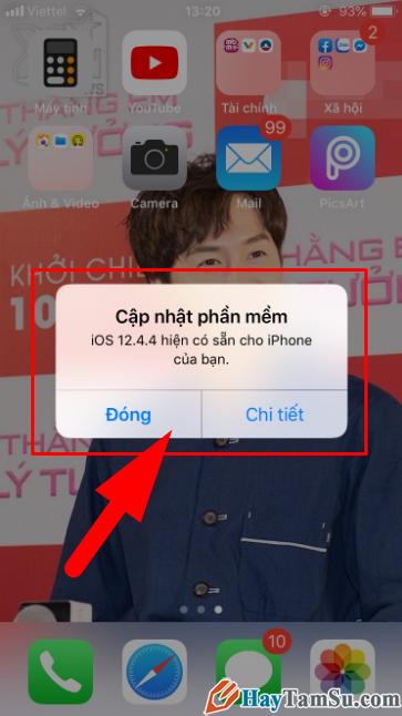 Cách Chặn/Tắt thông báo cập nhật iOS cho điện thoại iPhone, iPad + Hình 18