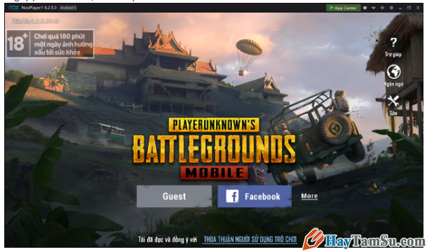Tải cài đặt và chơi game PUBG Mobile bằng NoxPlayer + Hình 12