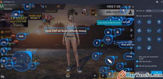 Hướng dẫn cách chơi game Garena Free Fire trên PC + Hình 5