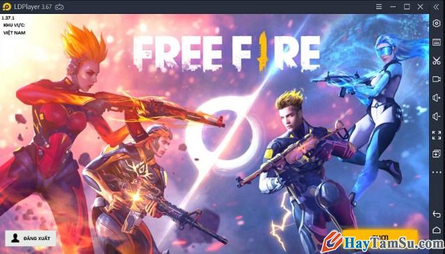 Hướng dẫn cách chơi game Garena Free Fire trên PC + Hình 6
