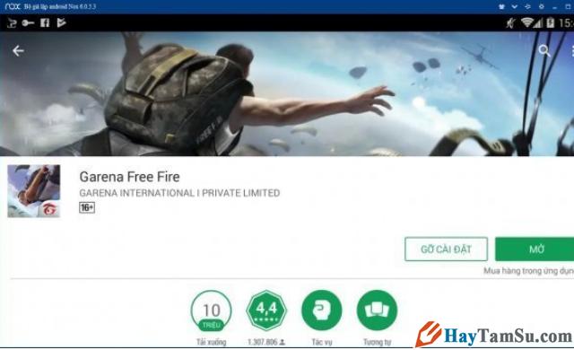Hướng dẫn cách chơi game Garena Free Fire trên PC + Hình 13