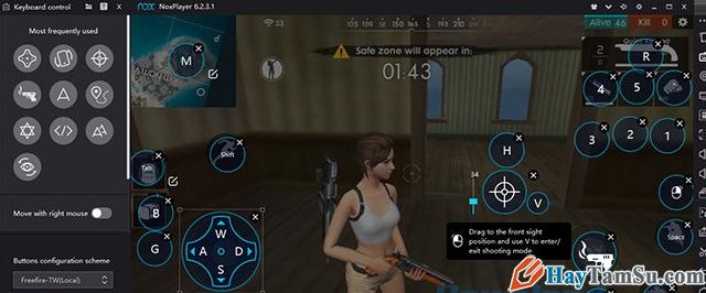 Hướng dẫn cách chơi game Garena Free Fire trên PC + Hình 22