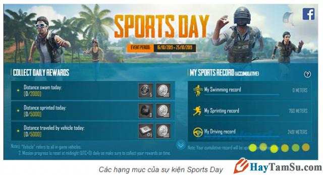 Sự kiện Sport Day từ game PUBG: Cực nhiều skin miễn phí + Hình 6