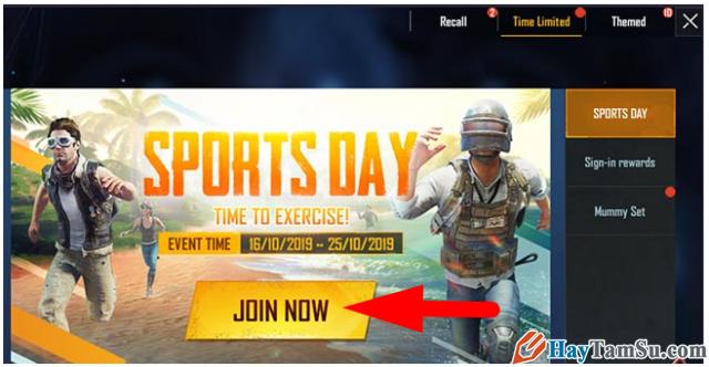 Sự kiện Sport Day từ game PUBG: Cực nhiều skin miễn phí + Hình 8