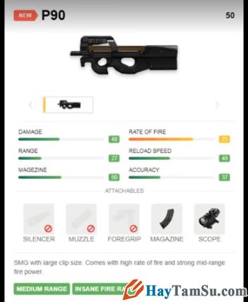 Những loại vũ khí mạnh nhất trong Garena Free Fire + Hình 4