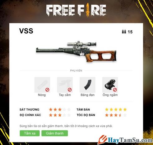 Những loại vũ khí mạnh nhất trong Garena Free Fire + Hình 7