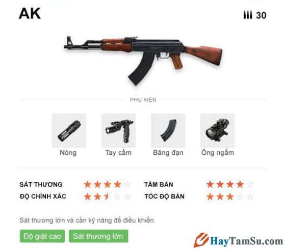 Những loại vũ khí mạnh nhất trong Garena Free Fire + Hình 10