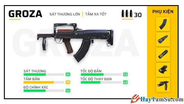 Những loại vũ khí mạnh nhất trong Garena Free Fire + Hình 20
