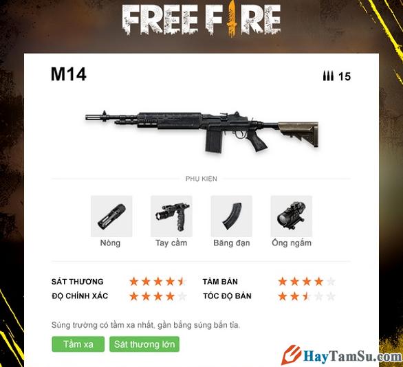 Những loại vũ khí mạnh nhất trong Garena Free Fire + Hình 21