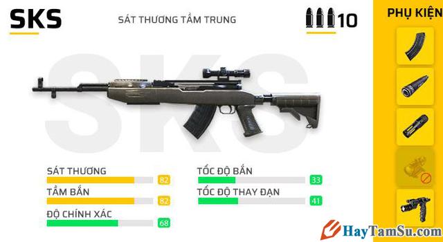 Những loại vũ khí mạnh nhất trong Garena Free Fire + Hình 22