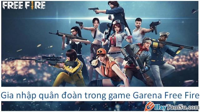 Cách gia nhập quân đoàn trong game Garena Free Fire