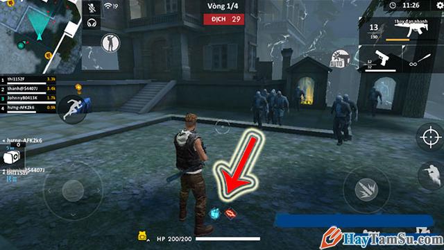 Cách chơi chế độ Zombie trong Garena Free Fire + Hình 7