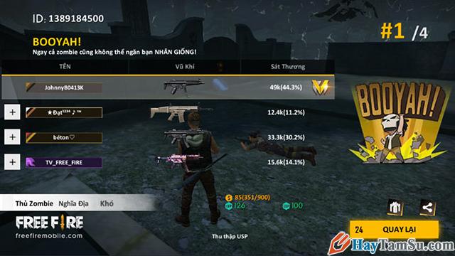 Cách chơi chế độ Zombie trong Garena Free Fire + Hình 16