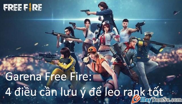 Garena Free Fire: 4 điều cần lưu ý để leo rank tốt