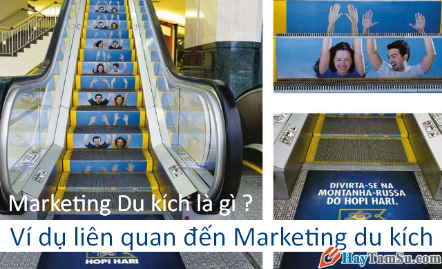 Khái niệm Marketing Du Kích - Ví dụ liên quan + Hình 1