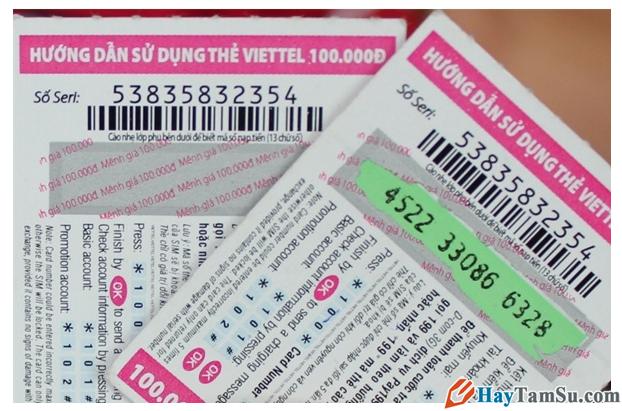 Nạp tiền điện thoại bằng số seri Viettel khi thẻ cào bị mất số + Hình 7