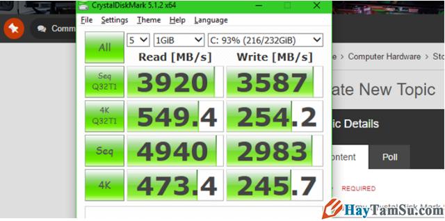Tổng hợp TOP 5 phần mềm Test SSD tốt nhất năm 2021 + Hình 5
